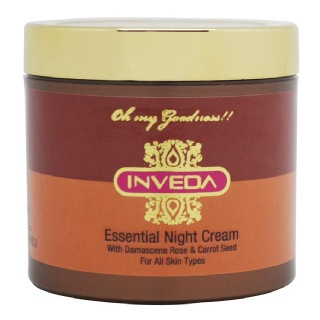 Inveda Essential Night Cream,  100 ml  for All Skin Type