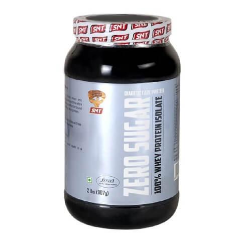 SNT Zero Sugar 100% Whey Protein Isolate,  2 lb  Chocolate