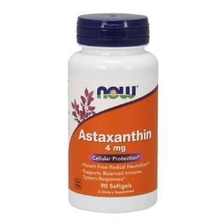 Now Astaxanthin (4 mg),  90 softgels
