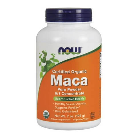 Now Maca Pure Powder,  0.198 kg