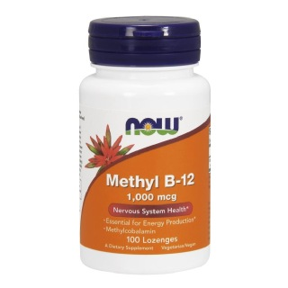 Now Methyl B-12 (1000mcg),  Unflavoured  100 capsules