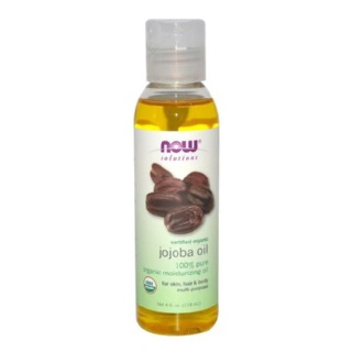 Now Jojoba Oil,  118 ml  for Skin, Hair & Body