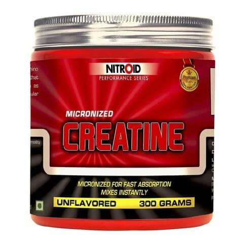 Nitroid Creatine,  Unflavoured  0.66 lb