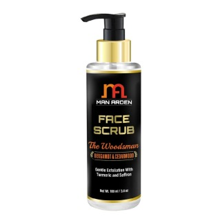 Man Arden Face Scrub,  100 ml  with Turmeric and Saffron