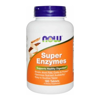 Now Super Enzymes,  180 tablet(s)