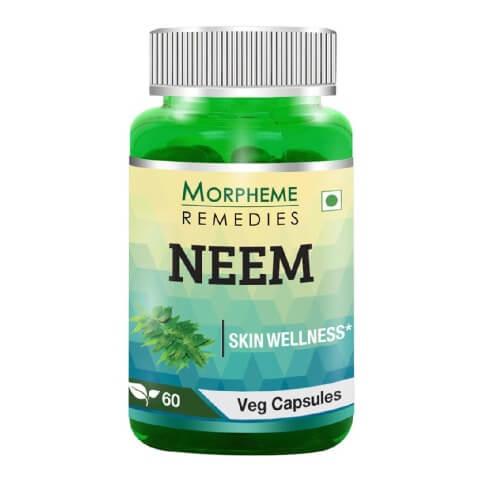 Morpheme Remedies Neem (500 mg),  60 veggie capsule(s)