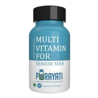 Purayati Multivitamin for Senior Men,  90 tablet(s)  Unflavoured