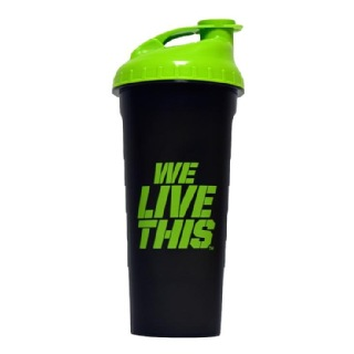DYEG Shaker Bottle,  Black & Green  600 ml