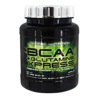 Scitec Nutrition BCAA + Glutamine Xpress,  1.32 lb  Apple