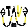 KOBO Home Gym Straps Trainer Kit (Tr-Axe),  3.5 meter  Black & Yellow