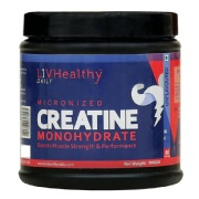Liv Healthy Creatine Monohydrate,  Unflavoured  0.66 lb