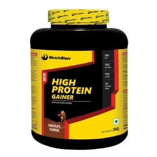MuscleBlaze High Protein Gainer,  6.6 lb  Chocolate