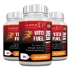 MuscleXP Vito Fuel Men Vital,  90 veggie capsule(s)  Unflavoured (Pack of 3)