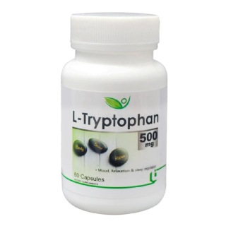 Biotrex L-Tryptophan (500 mg),  60 capsules