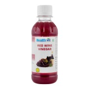 Healthvit Red Wine Vinegar,  0.250 L  Unflavoured