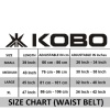 KOBO Back Support Weight Lifting Gym Belt (WTB-02),  Brown  XL
