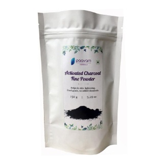 By Nature Activated Charcoal Fine Powder,  150 g  All Skin Type