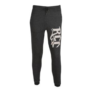 Rocclo Track Pants-5077,  Charcoal Grey  XL