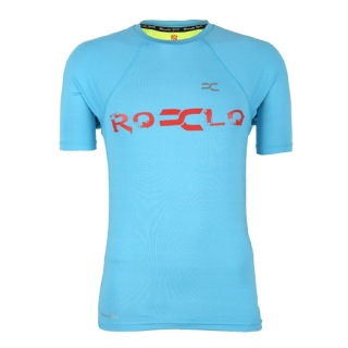 Rocclo T Shirt-5060,  Sky Blue  XL