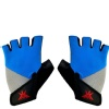 KOBO Gym Gloves (WTG-16),  Blue, Grey & Black  Small