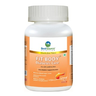 BestSource Nutrition Fit Body Diabetes Care,  60 capsules