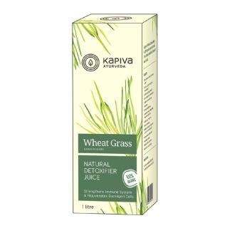 Kapiva Wheat Grass Juice,  Natural  1 L