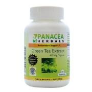 Panacea Herbals Green Tea Extract (400 mg),  60 capsules  Natural