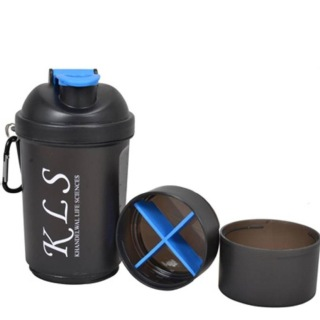 GHC 3-Compartment Shaker Bottle