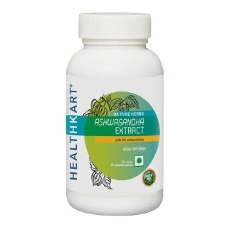 HealthKart Ashwagandha Extract,  90 capsules