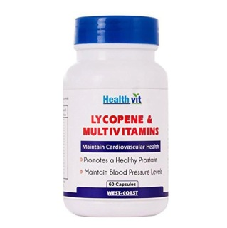 Healthvit Lycopene & Multivitamins,  60 capsules