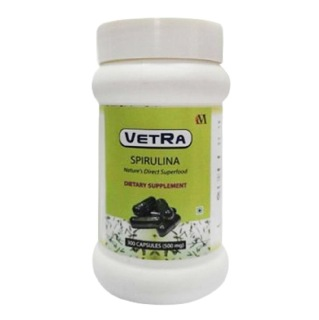 Vetra Spirulina (500 mg),  300 capsules