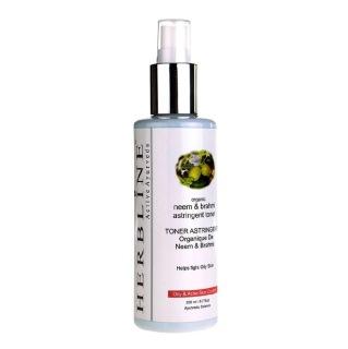 Herbline Neem & Embllica Astringent,  200 ml  Oily & Acne Control