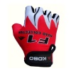 KOBO Weight Lifting Gloves (CG-01),  Red & White  Large