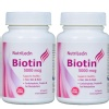NutriLeon Biotin (Pack of 2),  60 capsules  Unflavoured