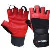 KOBO Gym Gloves (WTG-02),  Red & Black  XL