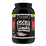 Nutrimed Gold Whey Protein,  2 lb  Butterscotch
