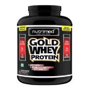 Nutrimed Gold Whey Protein,  5 lb  Kesar Badam Pista