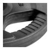 KOBO Premium Quality Rubber Coated Plate 31mm,  Black  7.5 kg