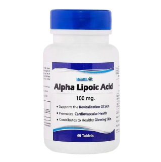 Healthvit Alpha Lipoic Acid,  60 tablet(s)