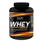 INLIFE Whey Protein Powder,  5 lb  Coffee
