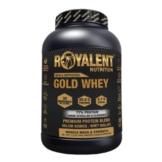 Royalent Gold Whey,  2.2 lb  Mango