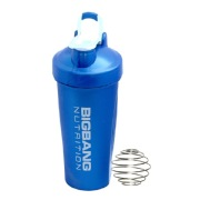 BigBang Nutrition Ball Shaker with Handle,  Blue  600 ml