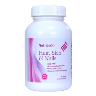 NutriLeon Hair, Skin & Nails,  Unflavoured  60 capsules