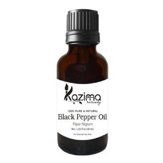 Kazima Black Pepper Oil,  30 ml  100% Pure & Natural
