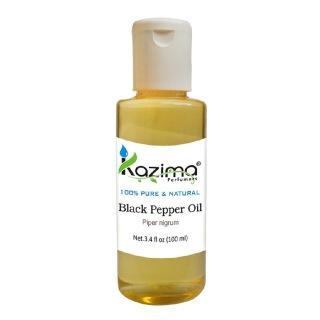 Kazima Black Pepper Oil,  100 ml  100% Pure & Natural