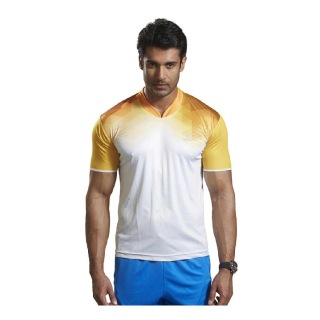 Omtex Active Wear T-Shirts - 1604,  Yellow  Small