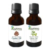 Kazima Olive & Castor Oil (Each 15ml) Combo,  2 Piece(s)/Pack  All Hair Type