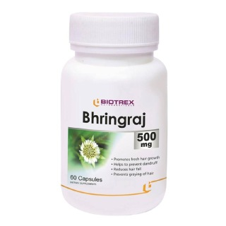 Biotrex Bhringraj (500 mg),  60 capsules