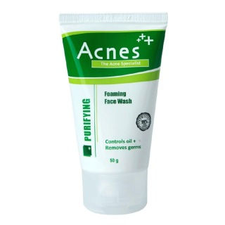 Acnes Purifying Foaming Face Wash,  50 g  for All Skin Types