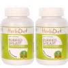 Herbadiet Purified Shilajit - Pack of 2,  60 capsules